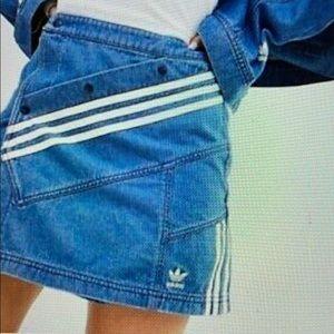 Adidas Originals Danielle Cathari Denim Skirt